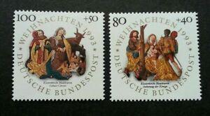 [SJ] Germany Christmas 1993 Festival Religious Culture (stamp) MNH