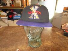 VINTAGE PROLINE NEGRO LEAGUE CUBAN X GIANTS FLAT BRIM FITTED HAT 7-1/2