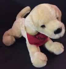 "Douglas LL Bean Golden Retriever Dog Puppy Stuffed Animal 14"" Plush In Bandana"