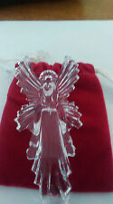 Waterford 2008 Annual Crystal Angel Ornament with enhancer