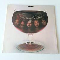 Deep Purple - Come Taste the Band Vinyl LP UK 1st Press 1975 EX/EX+