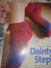 Ladie/Girls Ankle Socks Knitting Pattern