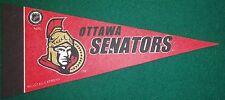 OTTAWA SENATORS NHL MINI PENNANT, NEW & MADE IN USA
