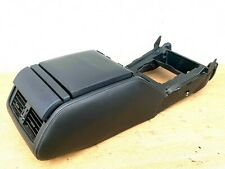 Range Rover P38 Centre Console Assy Leather Black Cubby Lid Console Cup Holders
