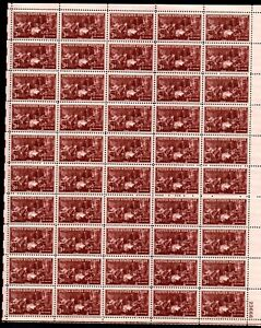 UNITED STATES 1947 SCOTT# 949 COMPLETE SHEET OF 50. THE DOCTORS ISSUE.