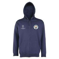 Manchester City FC Men's UEFA Champions League Zip Hoodie - Navy - New