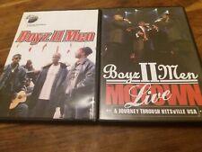 Boyz II Men Rare DVD Collection 1x R2 DVD + Motown Live Region Free Mint Boys 2
