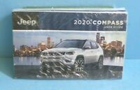 20 2020 Jeep Compass owners manual/user guide with Navigation BRAND NEW