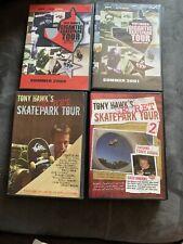 Lot Of Tony Hawk Dvds 2 Gigantic Skatepark Tour 2 Secret Skatepark Tour 6 Discs