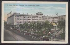 Postcard JACKSONVILLE Florida/FL  Cohens' Store St James Building 1910's
