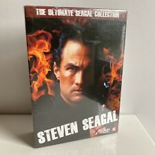 STEVEN SEAGAL THE ULTIMATE SEAGAL COLLECTION DVD BOX SEALED DUTCH SUBTITLES