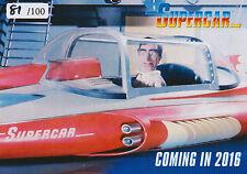 Gerry Anderson Supercar Fireball XL5 Stingray Joe 90 Preview Card Set (/100)