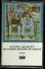 The Stamps Quartet He Looked Beyond My Faults Cassette Gospel CCM J.D. Sumner