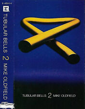Mike Oldfield ‎ Tubular Bells II 2 CASSETTE US ISSUE REMAINDERED ITEM Ambient