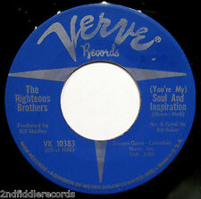 THE RIGHTEOUS BROTHERS-Soul And Inspiration-Northern Soul 45-VERVE #VK 10383