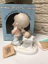 Precious Moments You Just Can't Chuck A Good Friendship 1988 Membership Figurine