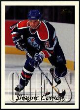 Shayne Corson #55 Edmondton Oilers TOPPS 1995-6 hockey sur glace CARTE (C531)