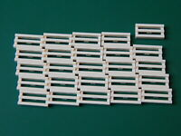 LEGO Tiles With Grille Slotted 1x2 Part 2412 WHITE BRAND NEW Choose Amount