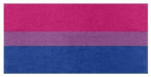 BISEXUAL PRIDE Bath and Beach Towels LGBTQ GLBTQ LGBTQIA Bi Rights Equality Love