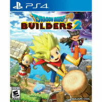 PLAYSTATION 4 PS4 DRAGON QUEST BUILDERS 2 BRAND NEW SEALED