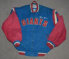 Vtg New York Giants Mirage Throwback Puffy Winter Jacket L Super Bowl Football
