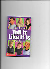 Paperback book What Girls Say Tell It Like It Is What Boys Say 2000 by Scholasti