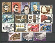 GREAT BRITAIN - 5 SETS - #664/684 - MNH - YR 1972