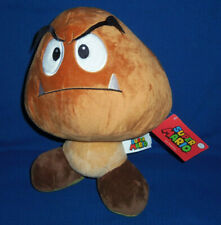 Super Mario Bros. Brown Goomba Plush Stuffed Toy Animal NEW WITH TAGS