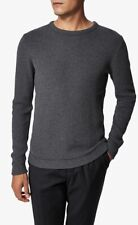 Selected Homme Clayton roll neck knitted pullover RRP £45 size large black