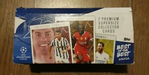 Topps UEFA Champions League Cards Best of the Best 2021 - Full Box of 24 packs