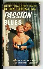 PASSION BLUES by Joe Weiss, rare US Beacon BB145 sleaze gga pulp vintage pb