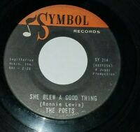 THE POETS She Blew A Good Thing / Out To Lunch Northern Soul 45