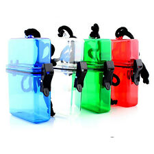 Waterproof Plastic Container Money Phone Storage Box Case Holder Camping Hot