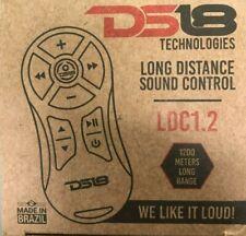 Black DS18 Ldc1.2 Long Distance Car Audio Remote Control 1200m