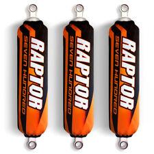 Orange Black Shock Covers Yamaha Raptor YFM 700 700R (Limited Edition)