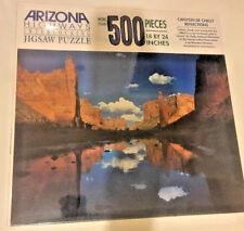 Vintage Arizona Highways Magazine Jigsaw Puzzle 500 Pc NIB 24x18 Canyon