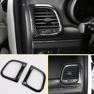 Carbo Black Side Air Conditioning Outlet Vent For Jeep Grand Cherokee 2011-2018