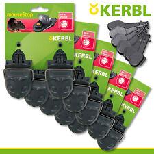 Kerbl 5x 2 Pièce Pièges à Souris Haut de la + 6 Ersatzköder Keller Garage Maison