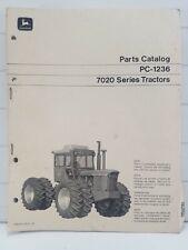 John Deere 7020 Tractor Parts Catalog Pc 1236