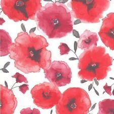 Graham & Brown 32-467 Superfresco Easy Poppies Wallpaper Red