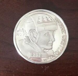 Wayne Gretzky NHL 1851 Limited Edition 1oz .999 Commemorative Silver Coin # 2132