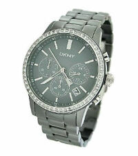 DKNY Armbanduhren aus Keramik mit 12-Stunden-Zifferblatt
