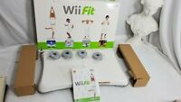 Wii Fit Balance Board / Game  (Wii, 2008) Bundle w/ box