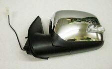 Isuzu Pickup 2.5/3.0TD Door Mirror Chrome Electric + L.E.D Indicator LH 03-8/06