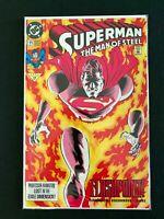 SUPERMAN MAN OF STEEL #11 DC COMICS 1992 NM+
