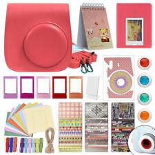 Deluxe Stylish Fun Accessory Kit for Fujifilm Instax Mini 9 Camera All Colors