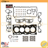 Fits:02-06 Nissan Sentra,Altima 2.5L I4 QR25DE MLS Full Head Gasket Set & Bolts