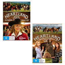 Heartland Complete Season Series 1, 2, 3, 4, 5, 6, 7, 8, 9 & 10 DVD Box Set R4