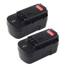 2x 18V 2000mAh NiCd Battery For Black & Decker 244760-00 A18 Firestorm FSB18