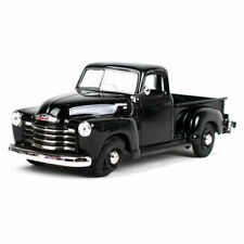 G LGB 1:24 Scale 1950 3100 Black Chevrolet Pickup Truck Diecast Rat Rod Model